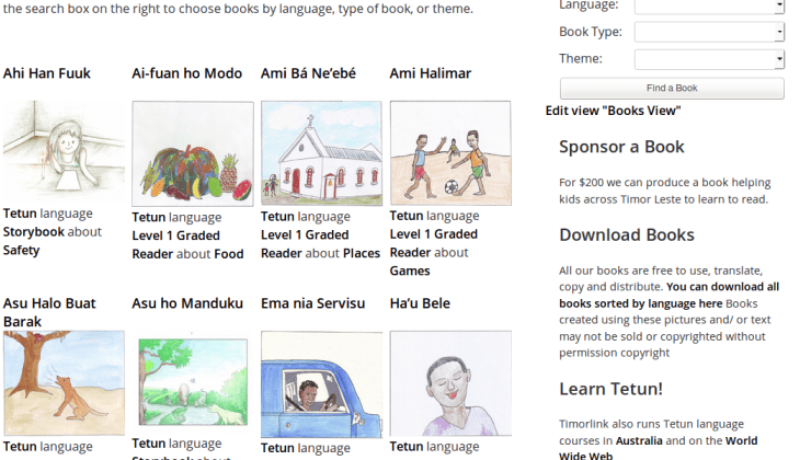 Wordpress Multilingual Tetun Library