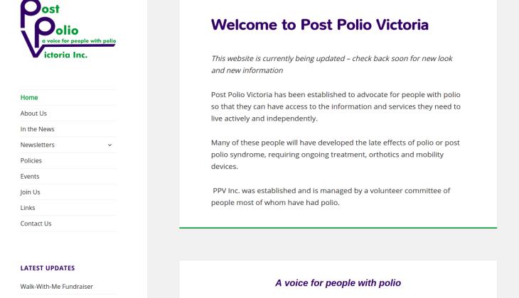 Post Polio Victoria