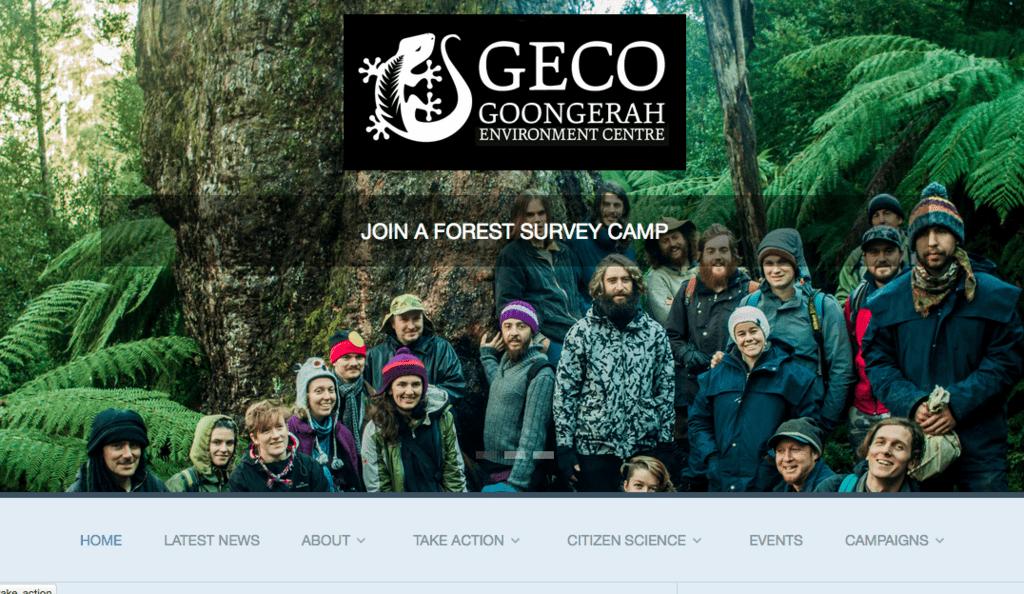 Environment Group Nationbuilder Website