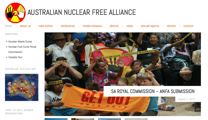 Australian Nuclear Free Alliance