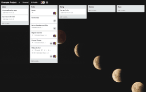 Team up using Trello
